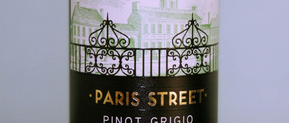Paris Street Pinot Grigio 2012