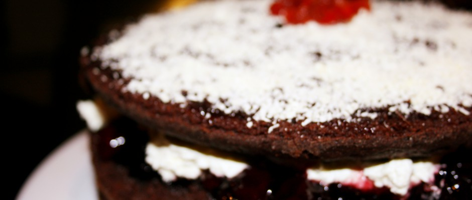 Brandy Black Forest Gateau